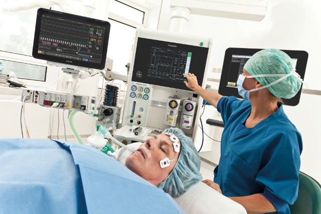 Innovationen für Anästhesiologie Philips und Gaumard