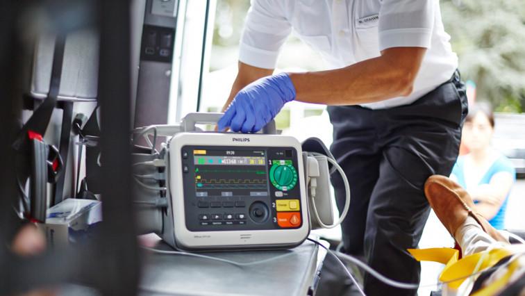 Service und Garantie Philips Defibrillator monitor Schweiz-Efficia-DFM100-Philips