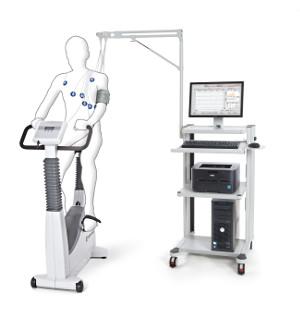 PC und Software basierte EKG Diagnostik mit Ergometer und PC