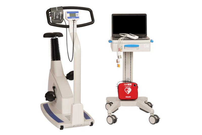 EKG Messplatz mit PC von custo med
