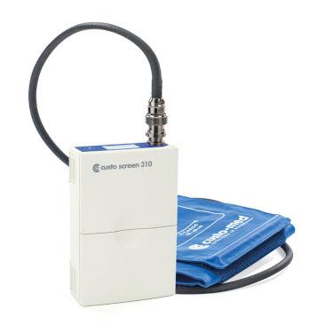 Pulswellen Analyse und zentraler Blutdruck mit custo med langzeit Blutdruck Rekorder