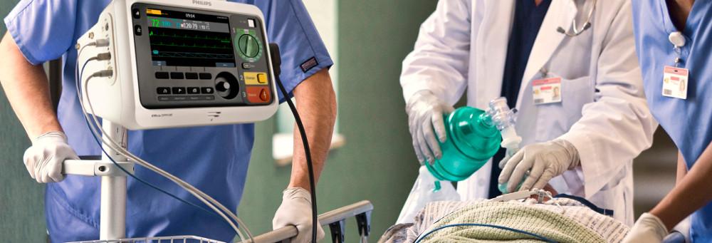 Defibrillator-Monitor Efficia DFM100 bei Schweizer Partner