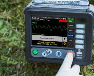 Defibrillator robust klein Outdoor Militär