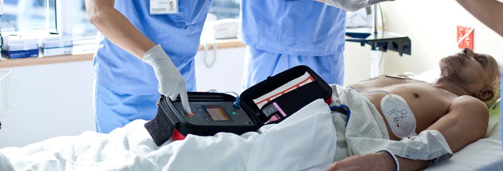 Defibrillator für Spital und Klinik HeartSTart Philips Online in der Schweiz kaufen