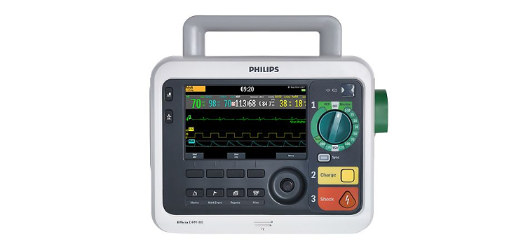 Defibrillator Monitor Efficia DFM 100 Philips