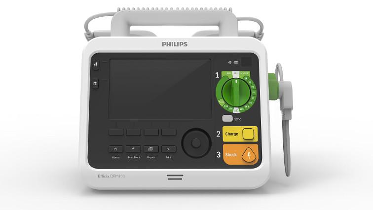 Philips Defibrillator Monitor für Spital und Rettungsdienst mit Schweizer Service