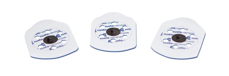elektroden langzeit ekg von custo