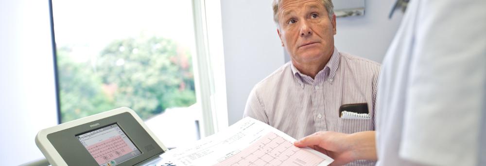 EKG Schreiber Philips Pagewriter TC20 vom Schweizer Partner für Arzt Praxis