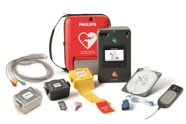 Sofort einsatzbereit, sofort schocken mit Defibrillator FR3 von Philips speziell für Profis