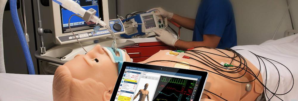 Medizinischer Simulator Erwachsener Hal von Gaumard bei Reavita in der Schweiz