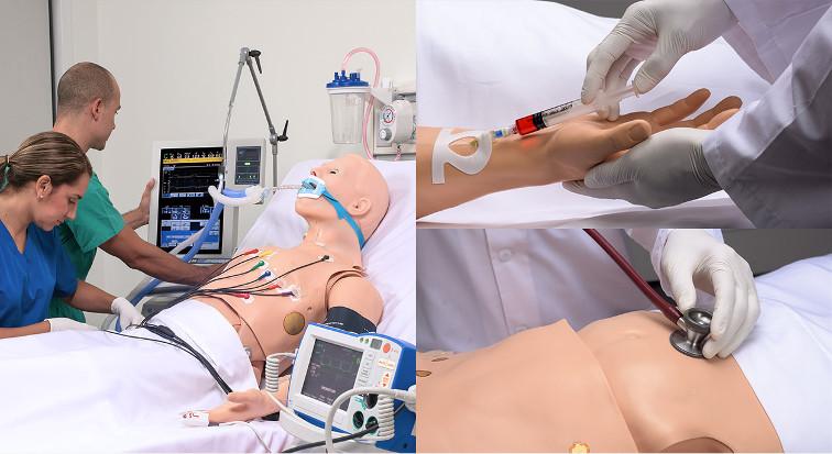 Trainieren Sie Allgemein- und Fachärzte mit einem Patientensimulator