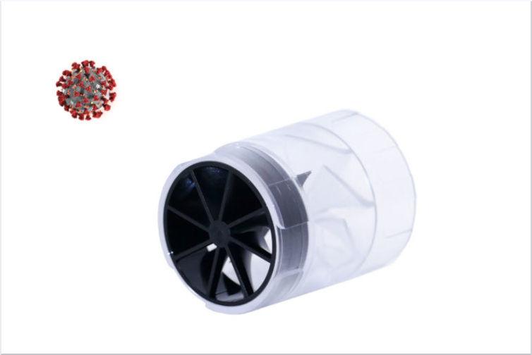 hygienische Turbine für Ergospirometrie in der Schweiz bei Covid-19 und Corona