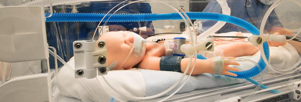 patientensimulator für Neugeborene von Gaumard in der Schweiz