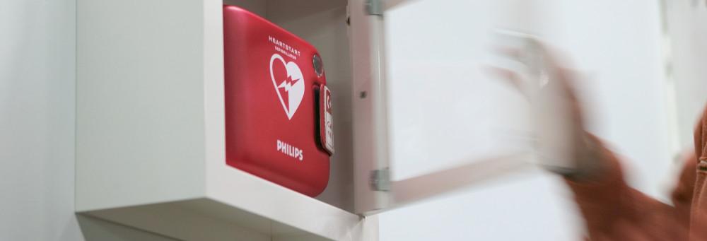 Defibrillator Philips für Schweizer Spital FRx