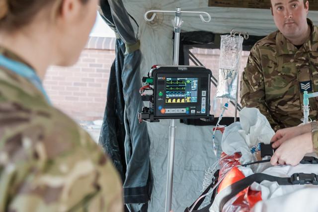 WTO-Beschaffung Patientenüberwachung Armee, Militär zivile Behörde