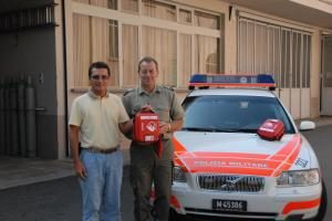 AED Tessin/Ticino und Aargau der Polizei