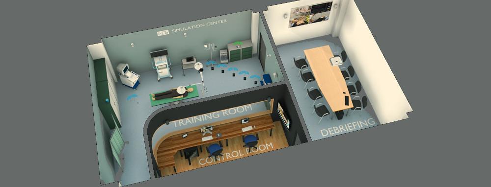 medizinisches Simulations Center in der Schweiz planen mit Services von Spezialisten