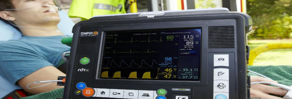 Viitalparameter Monitor Rettungsdienst Schweiz Tempus Pro Philips RDT